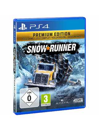 SnowRunner - Premium Edition [PS4, русская версия]