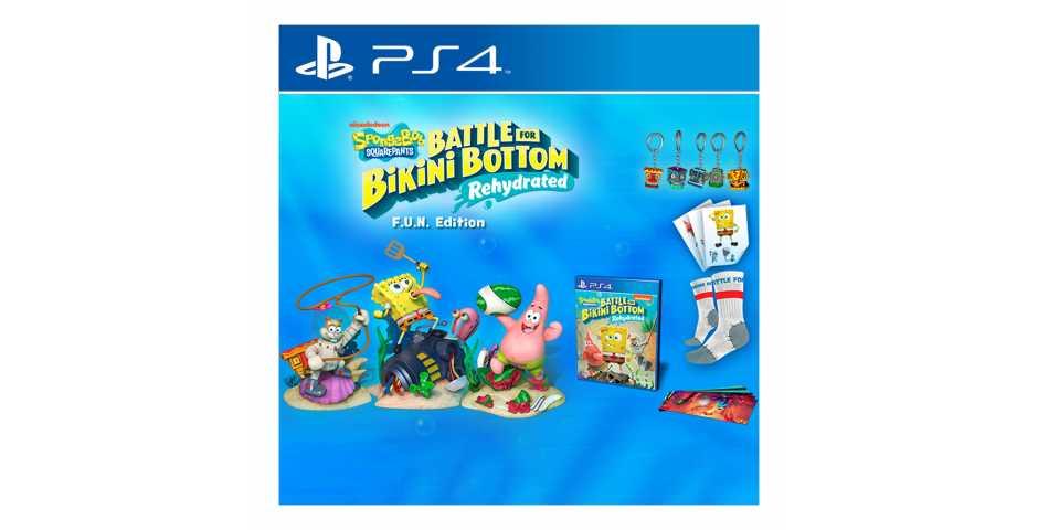 SpongeBob SquarePants: Battle for Bikini Bottom - Rehydrated - FUN Edition [PS4]