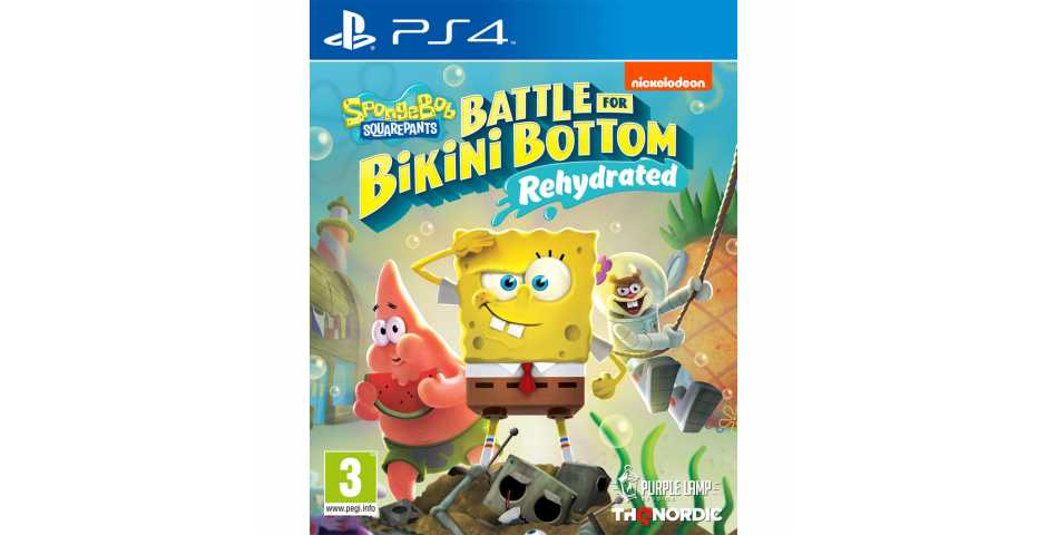 SpongeBob SquarePants: Battle for Bikini Bottom - Rehydrated [PS4]