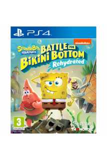 SpongeBob SquarePants: Battle for Bikini Bottom - Rehydrated [PS4] Trade-in | Б/У