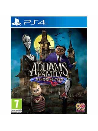 Семейка Аддамс: Переполох в особняке [PS4, русская версия]