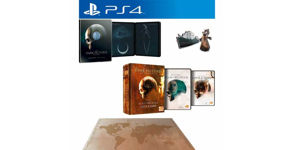 The Dark Pictures Anthology: Volume 1 - Limited Edition [PS4, русская версия]
