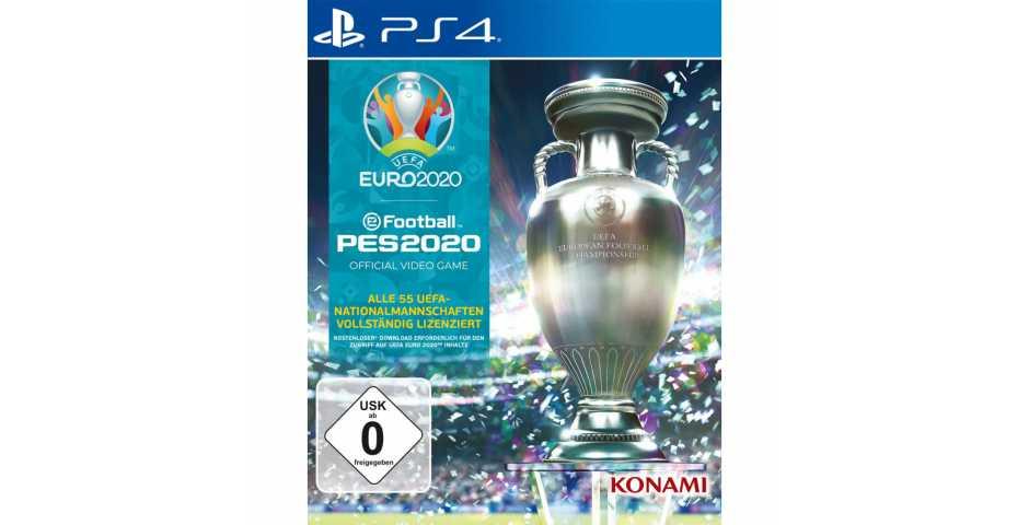 eFootball PES 2020: UEFA EURO 2020 [PS4]