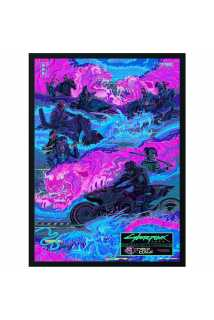 Постер Night City Gangs: Tyger Claws (Premium Limited Edition)
