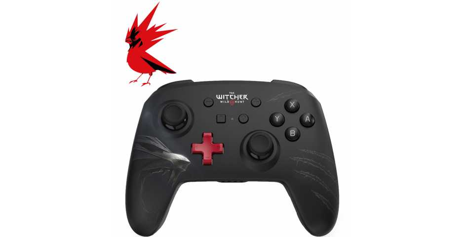 Контроллер The Witcher 3 Enhanced Wireless Controller [Switch]