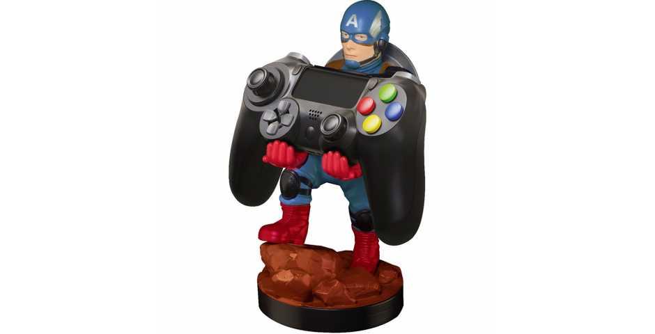 Держатель Captain America Cable Guy — Phone and Controller Holder