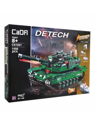 Радиоуправляемый конструктор CaDA Tank 2 в 1