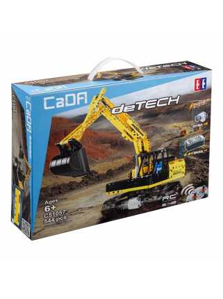 Радиоуправляемый конструктор CaDA Excavator