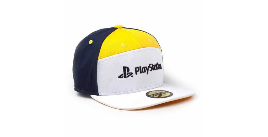 Бейсболка PlayStation: 7 Panels Snapback Cap