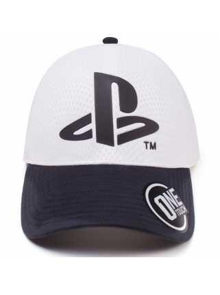 Бейсболка PlayStation: Logo Seamless Curved Bill Cap