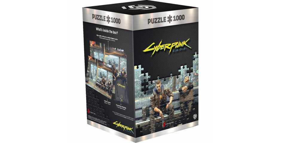 Пазл Cyberpunk 2077 (Metro)