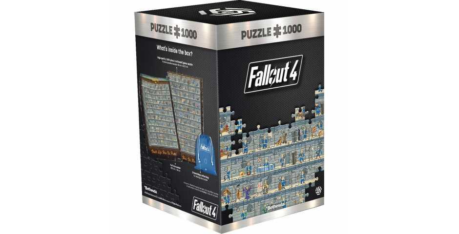 Пазл Fallout 4 (Perk poster)