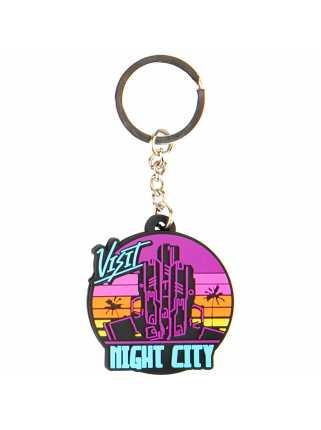 Брелок J!NX Cyberpunk 2077 Visit Night City