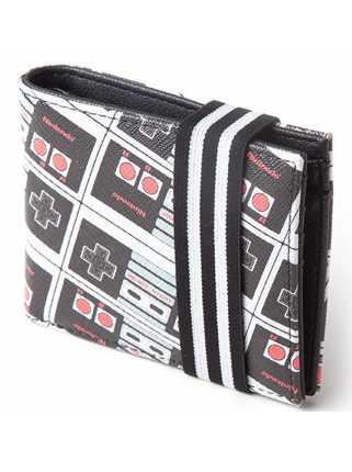 Кошелек NES: Controller AOP Bifold Wallet