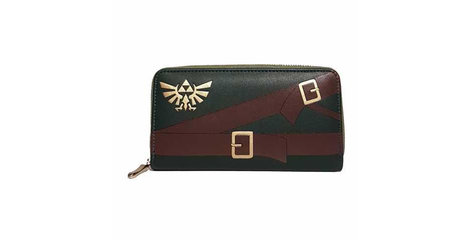 Кошелек Zelda: Suit Ladies Zip Around Wallet