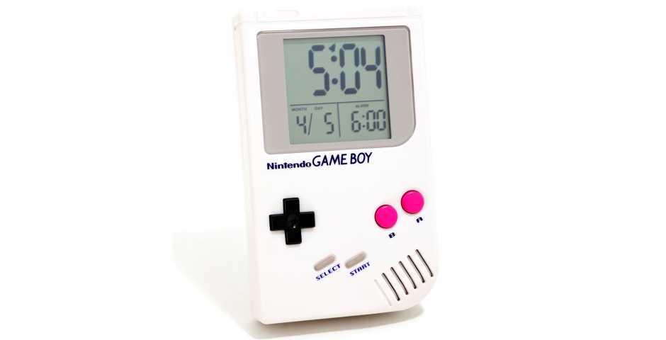 Часы Game Boy Alarm Clock