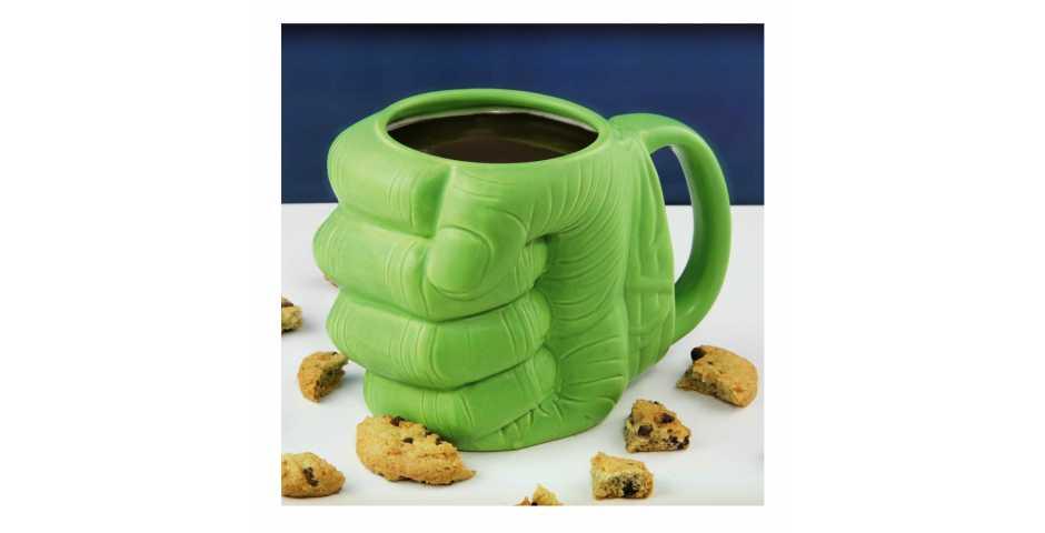 Кружка Marvel Avengers Hulk Shaped Mug