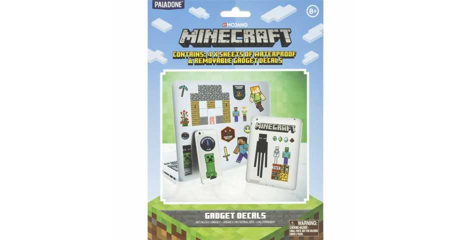 Набор наклеек Minecraft Gadget Decals