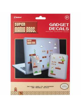 Набор наклеек Super Mario Bros Gadget Decals
