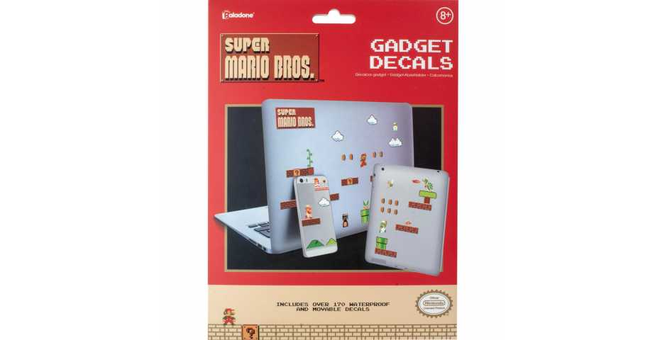 Набор наклеек Super Mario Bros Gadget Decals