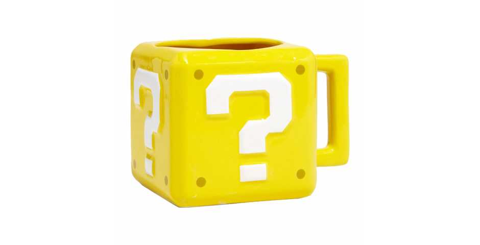 Кружка Super Mario Question Block Mug