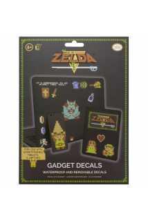 Набор наклеек The Legend of Zelda 8 Bit Gadget Decals