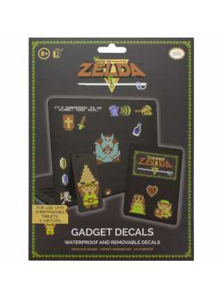 Набор наклеек The Legend of Zelda 8 Bit Gadget Decals