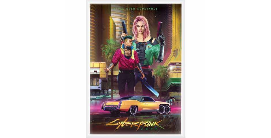 Постер Kitsch - Styles of Cyberpunk 2077 (Standard)