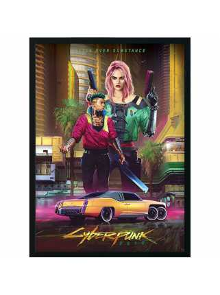 Постер Kitsch - Styles of Cyberpunk 2077 (Premium Limited Edition)