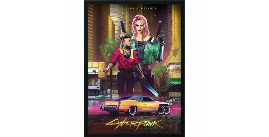 Постер Kitsch - Styles of Cyberpunk 2077 (Premium Limited Edition)