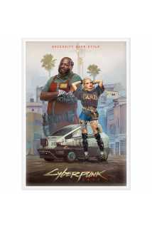 Постер Entropism - Styles of Cyberpunk 2077 (Standard)