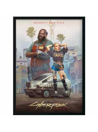 Постер Entropism - Styles of Cyberpunk 2077 (Premium Limited Edition)