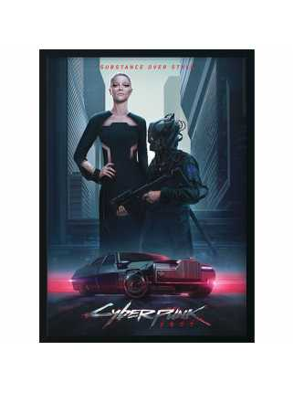 Постер Neomilitarism - Styles of Cyberpunk 2077 (Premium Limited Edition)
