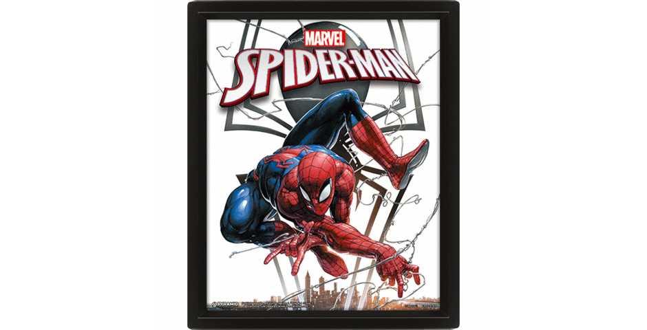 Постер 3D Marvel (Spiderman / Venom)