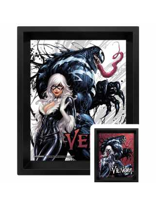 Постер 3D Venom (Teeth and Claws)