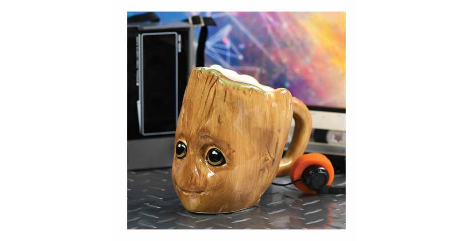 Кружка Guardians of the Galaxy (Baby Groot) 3D Sculpted Shaped Mug