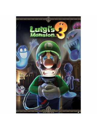 Постер Luigi's Mansion 3 (You're in for a Fright)