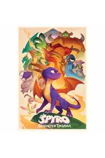 Постер Spyro (Animated Style)