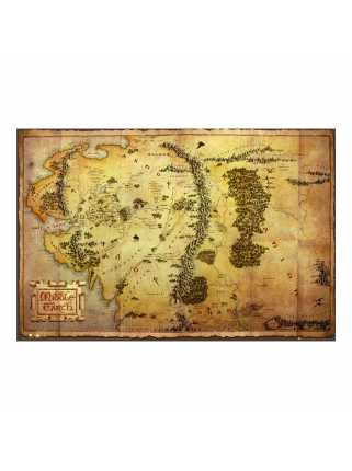 Постер The Hobbit (Journey Map)