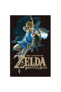 Постер The Legend Of Zelda: Breath Of The Wild (Game Cover)