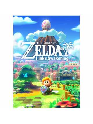 Постер The Legend Of Zelda (Link's Awakening)