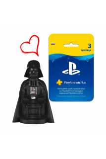 Darth Vader Cable Guy + 3 месяца PS Plus