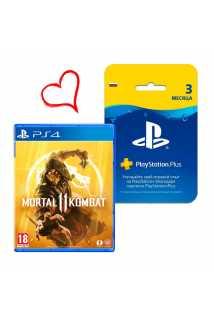 Mortal Kombat 11 [PS4] + 3 месяца PS Plus