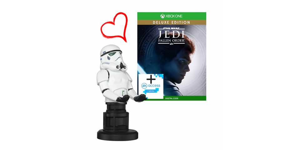 Stormtrooper Cable Guy + Star Wars Jedi: Fallen Order Deluxe [Xbox One]