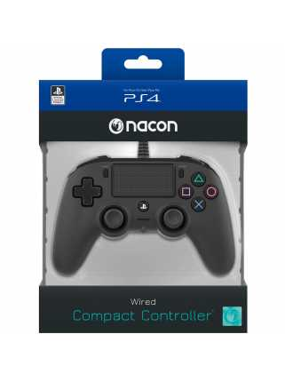 Геймпад NACON Wired Compact Controller (Black) [PS4]