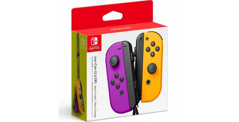 Nintendo Switch - Joy-Con (L/R)-Neon Purple / Neon Orange