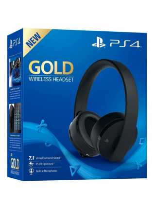 Гарнитура Gold Wireless Headset (Black)