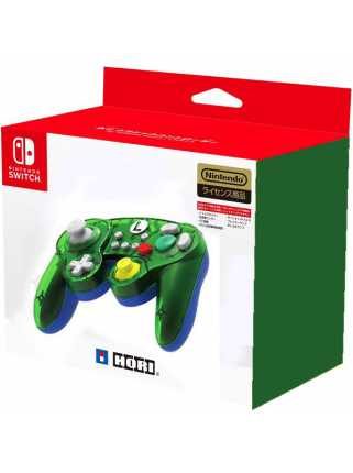 Геймпад для Nintendo Switch - Hori BATTLE PAD (LUIGI)