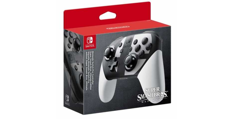 Контроллер Pro Controller в стиле Super Smash Bros. Ultimate Edition [Switch]