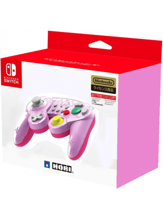 Геймпад для Nintendo Switch - Hori BATTLE PAD (PEACH)
